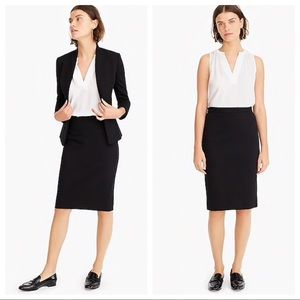 J.Crew Suiting Skirt Straight